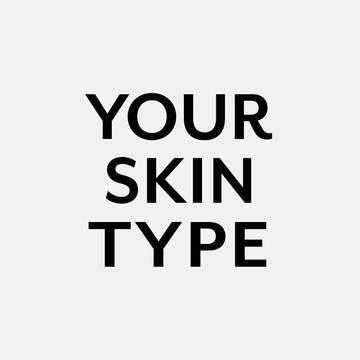 OCTROOI YOUR SKIN TYPE