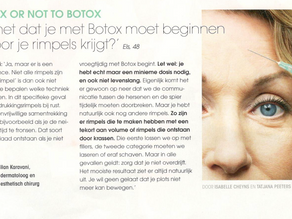 To botox or not to botox