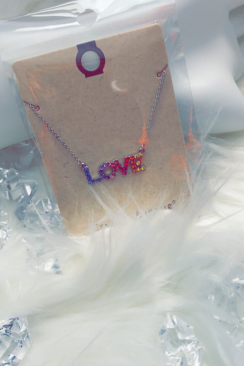 """""""Love is Love""""Necklace"""