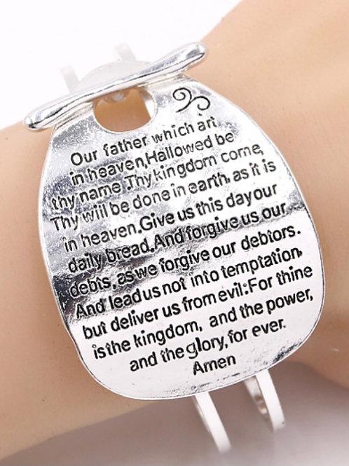 """The Lord's Prayer"" Bracelet"