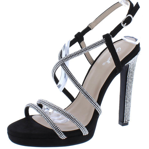 """Chicago"" Black Diamond Heels"