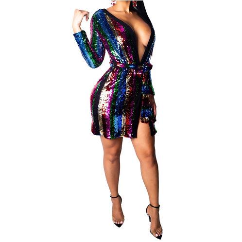 """Disco"" Mini Dress"