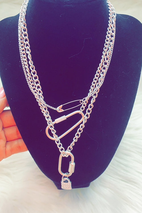 """""""Triple Threat"""" Necklace"""