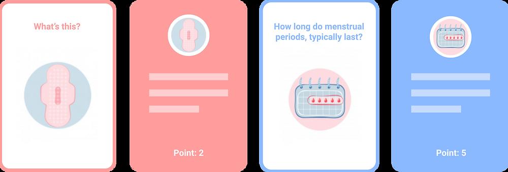 Illustrations are online assets: Image resource: https://www.freepik.com/premium-vector/feminine-hygiene-set-with-menstrual-cup_5308611.htm