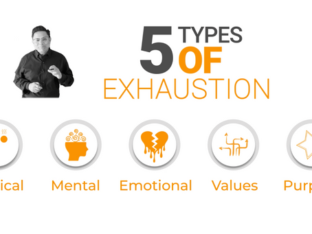 Are You Feeling Exhausted? Understanding these 5 types of exhaustion may help you.