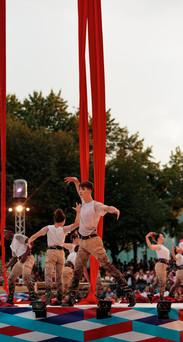 Aerial Silks, Festival Montréal Complètement Cirque, Antoine Boissereau