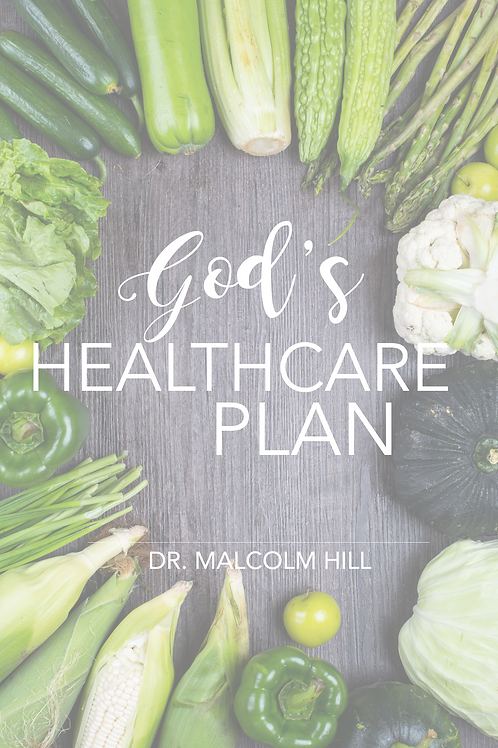 God's Healthcare Plan (Hard Cover)