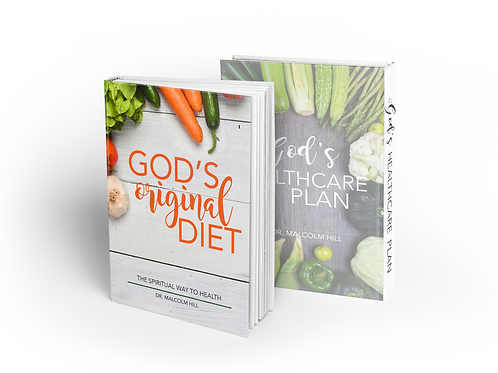 God's Original Diet & God's Healthcare Plan (Paperback Set)