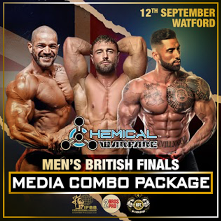 Media Combo - 2BrosPro Men's British Finals