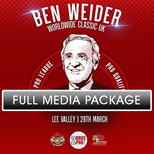 Media Combo - 2BrosPro Ben Weider Classic