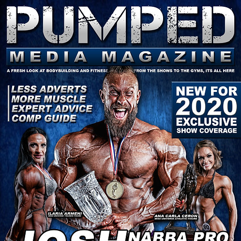 Pumped Media Mag - Single Issue (by post)
