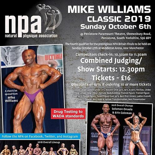 Full Media Package NPA Mike Williams Classic