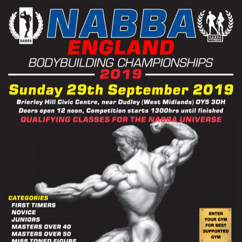 Your Video Clips NABBA England 2019