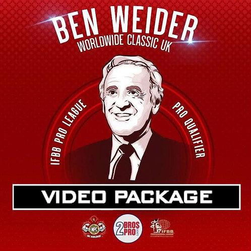 Video Package - 2BrosPro Ben Weider