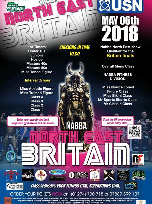 NABBA NORTH EAST - YOUR VIDEO DOWNLOADS