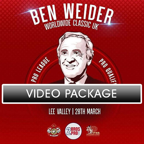Video Package - 2BrosPro Ben Weider Classic