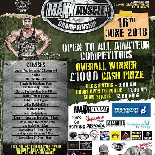 YOUR VIDEO CLIPS - MAXX MUSCLE CHAMPIONSHIP