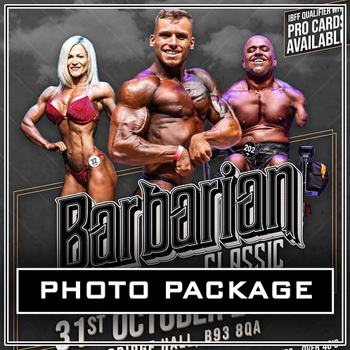 Photo Package - Barbarian Classic