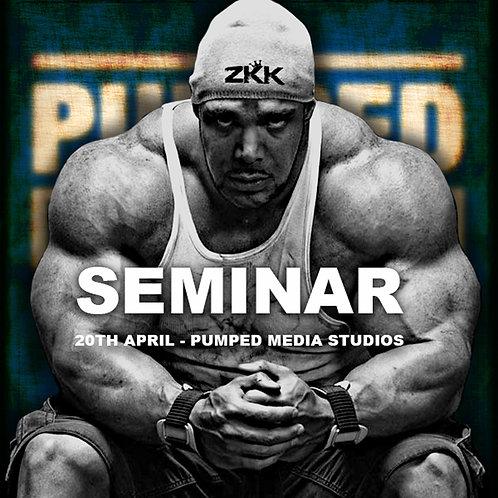 Zack King Khan Seminar