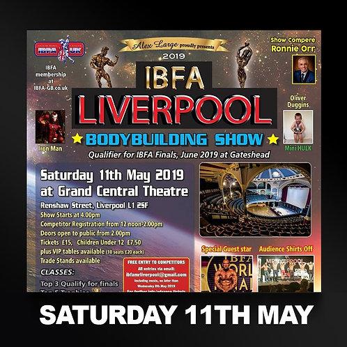 Full Media Package - IBFA Mr & Miss Liverpool
