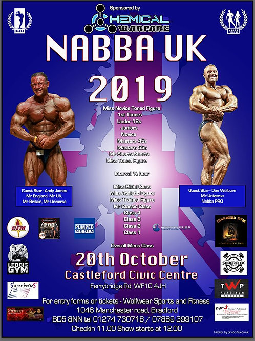 Your Video Clips - NABBA UK