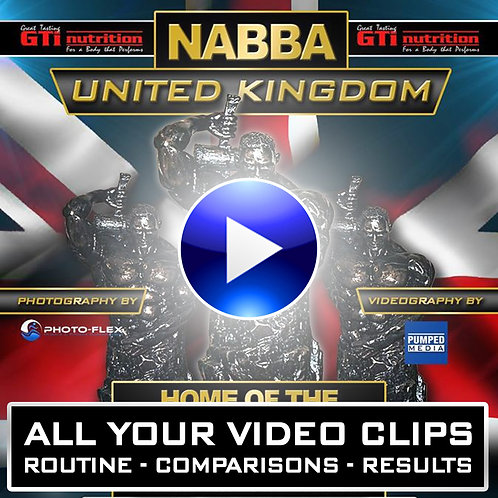 NABBA UK 2018 - YOUR VIDEO DOWNLOADS