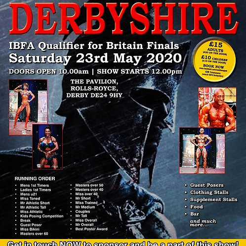 Photos Package - IBFA Derbyshire 2020