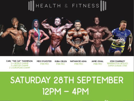 LIVE HEALTH & FITNESS OPEN DAY