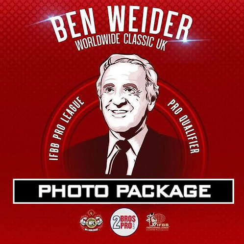 Photo Package - 2BrosPro Ben Weider