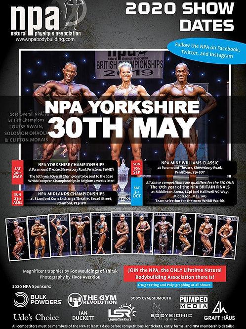 Video Package - NPA Yorkshire 2020