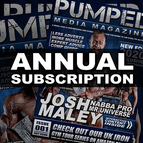 Pumped Media Mag - AnnualSubscription (by post)