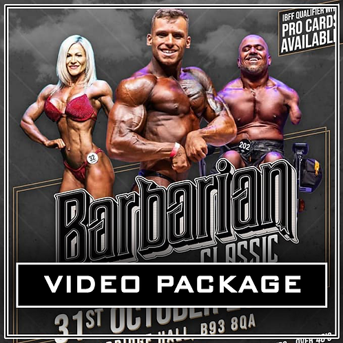Video Package - Barbarian Classic