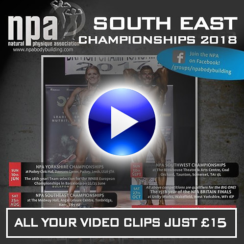 YOUR VIDEO CLIPS - NPA SOUTH EAST 2018