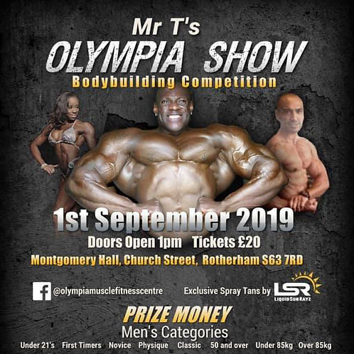 Your Video Clips - Mr T's Olympia