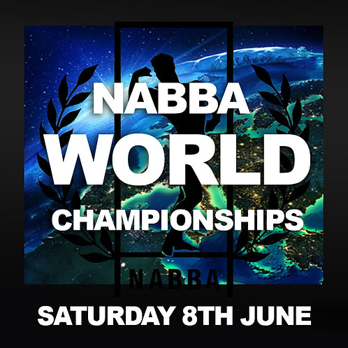 Your Stage Photos - NABBA World Championships 2019