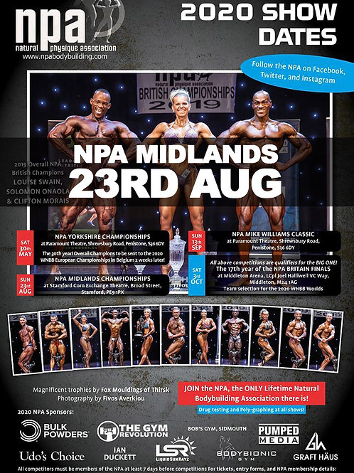 Video Package - NPA Midlands 2020