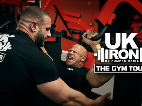 OUT NOW!! UK Iron: The Gym Tour