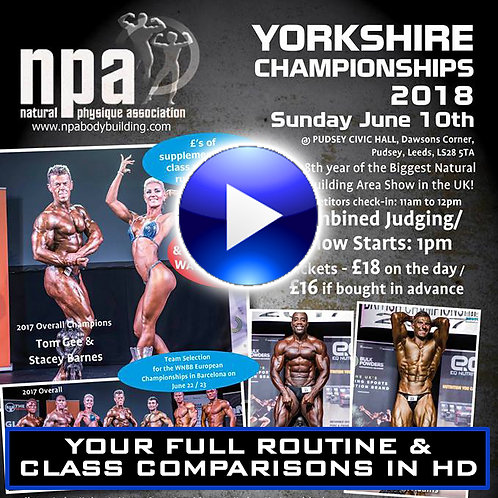 YOUR VIDEO CLIPS - NPA YORKSHIRE CHAMPIONSHIPS 2018