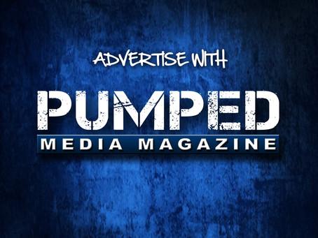 PUMPED MEDIA MAGAZINE ANNOUNCEMENT - APRIL 2020