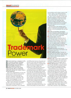Trademark power