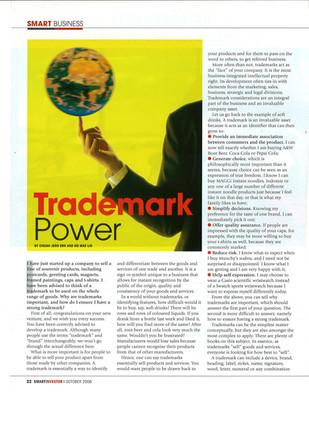 Trademark power