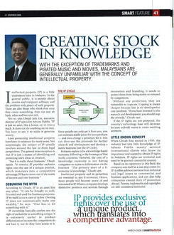 Creating Stock in Knowledge