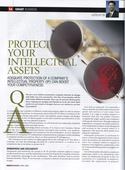 Protect your intellectual assets