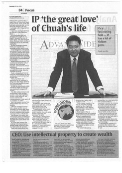 IP 'the great love' of Chuah's life