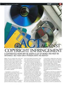 Act against copyright infringement