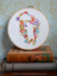 Flower Bear Embroidery