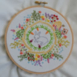 Spring Embroidery Sampler