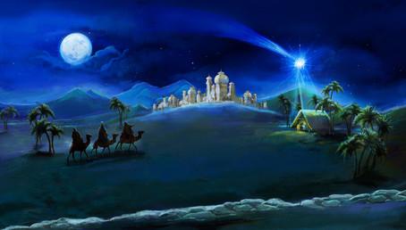 Festlicher Neujahrs-Lichtabend