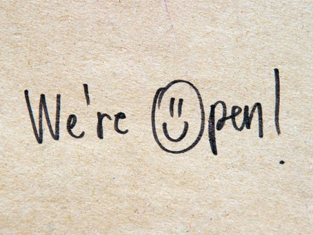 Covid-19 Update :- WE ARE OPEN!