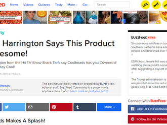 Going Viral? Buzzfeed found us!